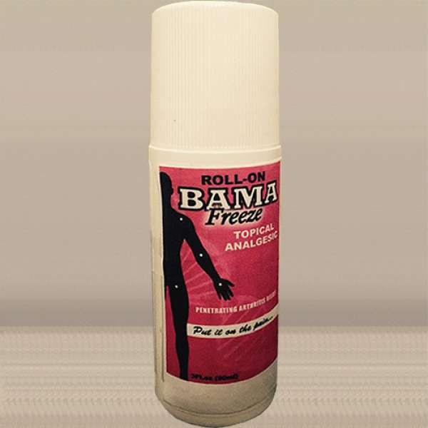 Bama~Freeze 3oz Roll-on